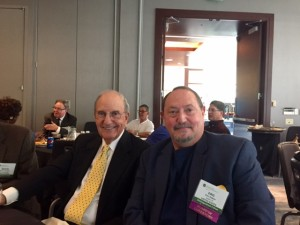 Eric Galton and Senator George Mitchell at the International Academy of Mediators Baltimore Conference