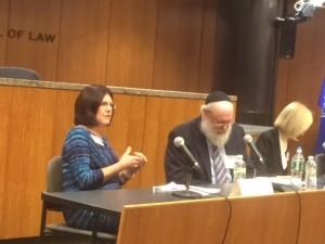 Kimberlee Kovach on mediation panel at Cardozo School of Law in New York City