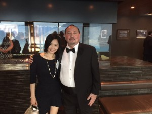 Eric Galton and leading Hong Kong mediator Jody Sin at the combined International Academy of Mediators and Arbitrators and Mediators Institute of New Zealand conference in Queenstown, New Zealand